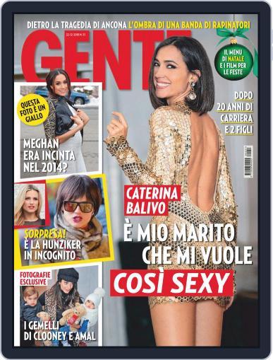 Gente (Digital) December 12th, 2018 Issue Cover