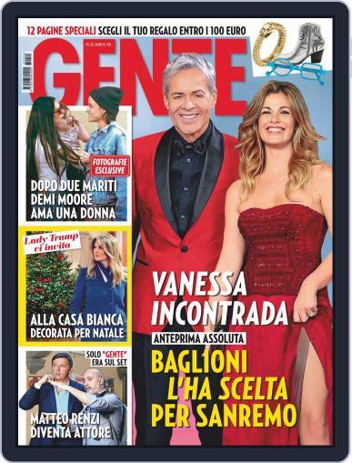 Gente (Digital) December 15th, 2018 Issue Cover