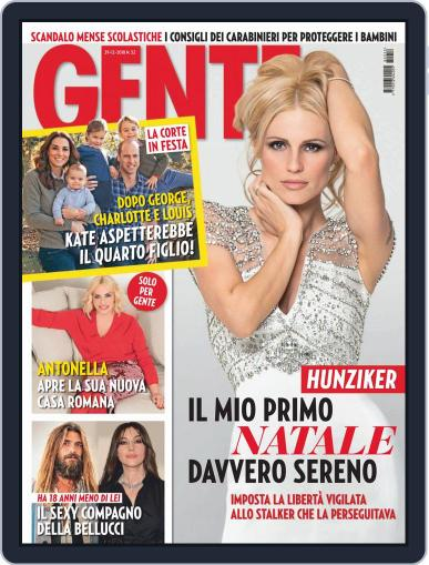 Gente December 29th, 2018 Digital Back Issue Cover