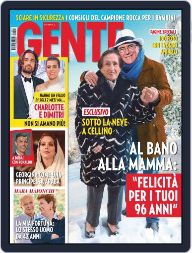 Gente January 19th, 2019 Digital Back Issue Cover