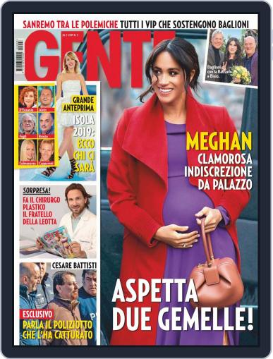 Gente January 26th, 2019 Digital Back Issue Cover