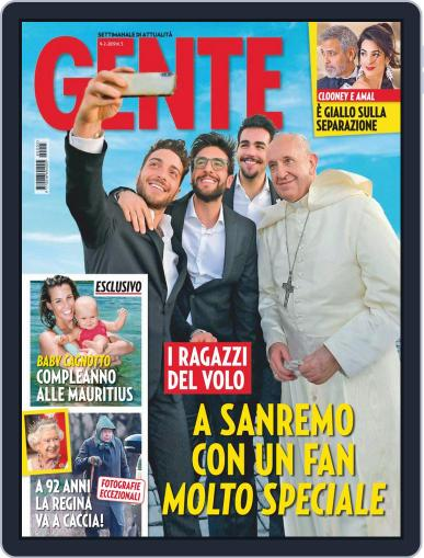 Gente (Digital) February 9th, 2019 Issue Cover