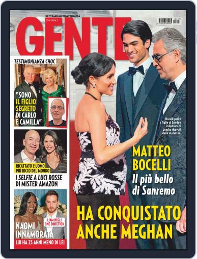 Gente (Digital) February 23rd, 2019 Issue Cover