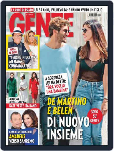 Gente (Digital) March 23rd, 2019 Issue Cover