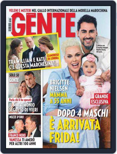 Gente (Digital) March 30th, 2019 Issue Cover