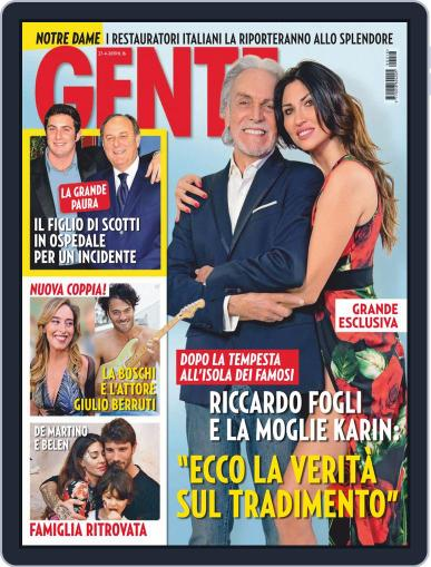 Gente (Digital) April 27th, 2019 Issue Cover