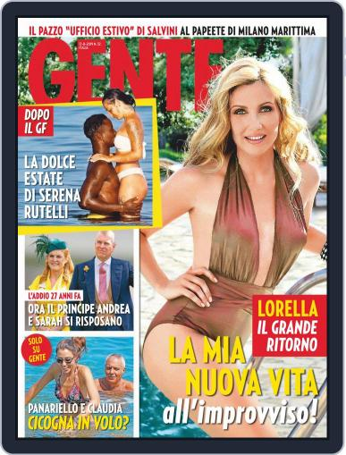 Gente (Digital) August 17th, 2019 Issue Cover