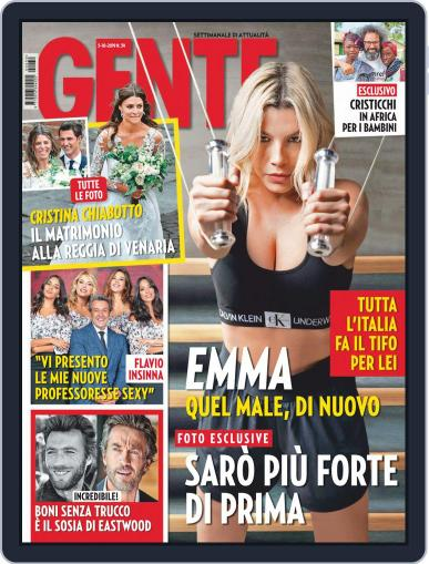Gente (Digital) October 5th, 2019 Issue Cover