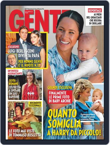 Gente October 12th, 2019 Digital Back Issue Cover