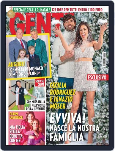 Gente December 14th, 2019 Digital Back Issue Cover