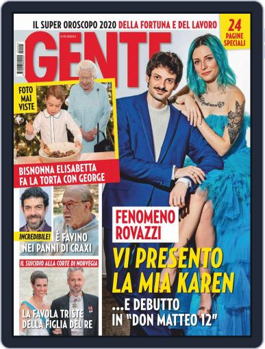 Gente (Digital) January 11th, 2020 Issue Cover