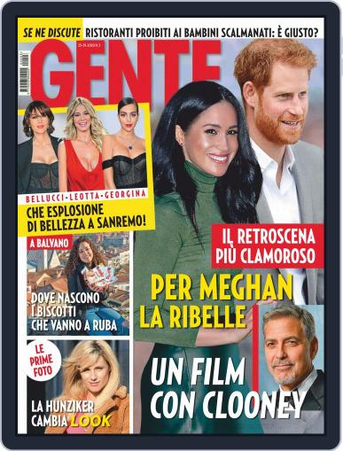 Gente January 25th, 2020 Digital Back Issue Cover