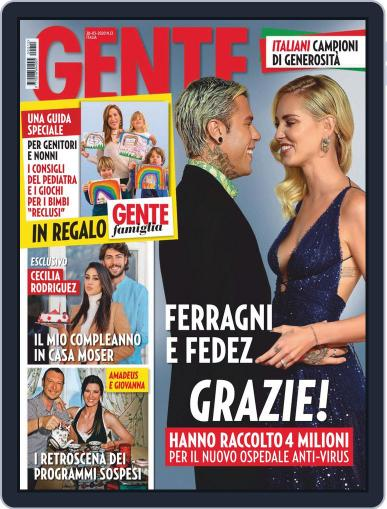 Gente March 18th, 2020 Digital Back Issue Cover