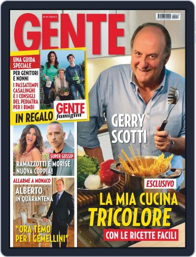 Gente (Digital) April 4th, 2020 Issue Cover