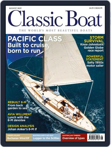 Classic Boat August 1st, 2019 Digital Back Issue Cover