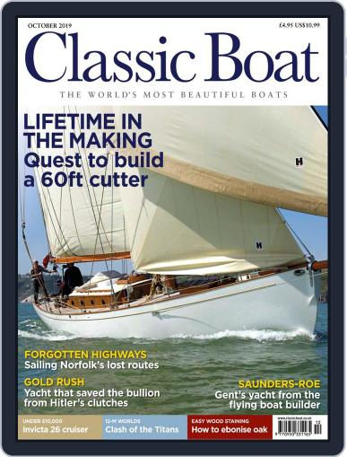 Classic Boat October 1st, 2019 Digital Back Issue Cover