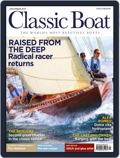 Classic Boat December 1st, 2019 Digital Back Issue Cover