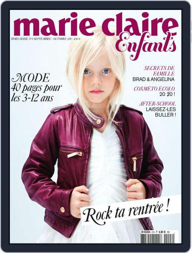 Marie Claire Enfants August 30th, 2011 Digital Back Issue Cover