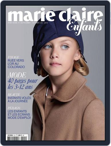 Marie Claire Enfants (Digital) August 27th, 2012 Issue Cover