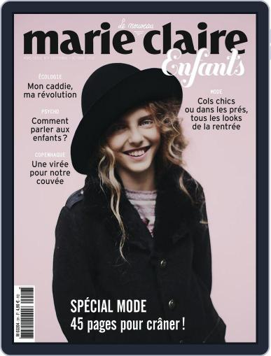 Marie Claire Enfants (Digital) September 1st, 2014 Issue Cover