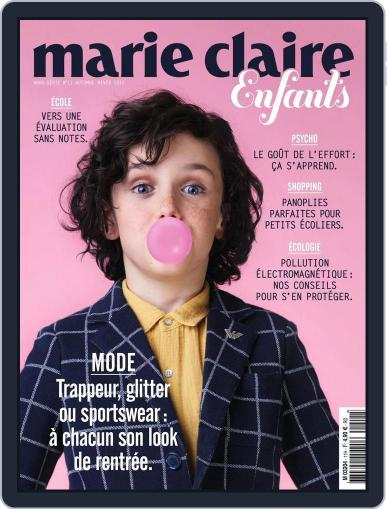 Marie Claire Enfants (Digital) August 26th, 2015 Issue Cover