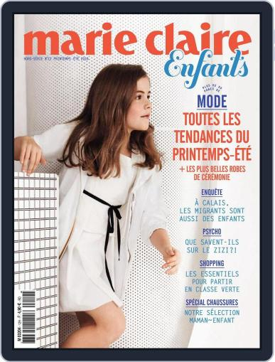 Marie Claire Enfants (Digital) March 1st, 2016 Issue Cover