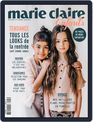 Marie Claire Enfants (Digital) October 1st, 2016 Issue Cover