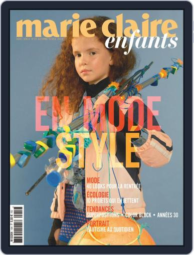 Marie Claire Enfants (Digital) August 1st, 2019 Issue Cover