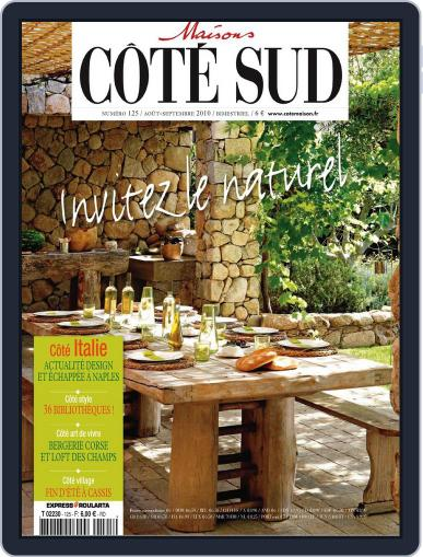 Côté Sud August 13th, 2010 Digital Back Issue Cover