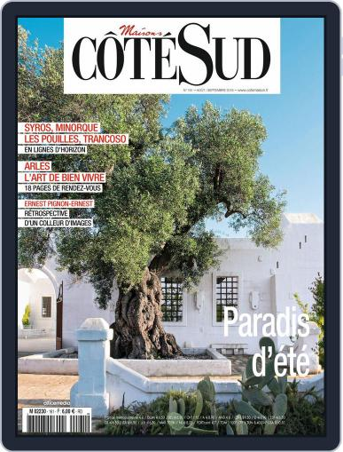 Côté Sud August 1st, 2016 Digital Back Issue Cover