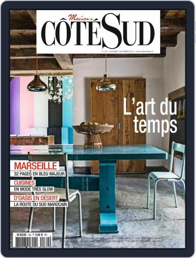 Côté Sud (Digital) October 1st, 2016 Issue Cover