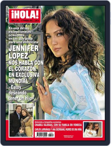 Hola (Digital) February 6th, 2007 Issue Cover