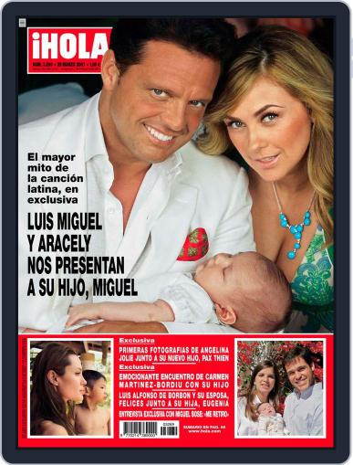 Hola (Digital) March 21st, 2007 Issue Cover