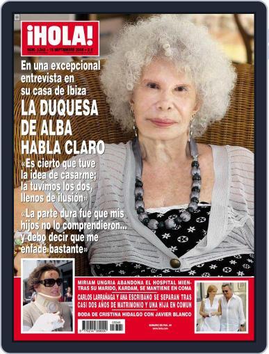 Hola September 3rd, 2008 Digital Back Issue Cover