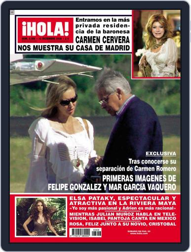 Hola (Digital) December 2nd, 2008 Issue Cover