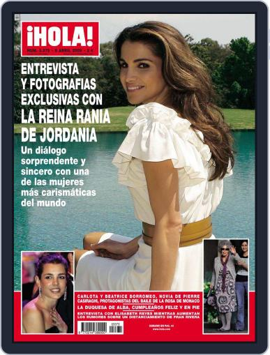 Hola (Digital) April 1st, 2009 Issue Cover