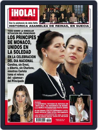 Hola (Digital) November 25th, 2009 Issue Cover