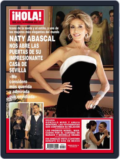 Hola December 16th, 2009 Digital Back Issue Cover