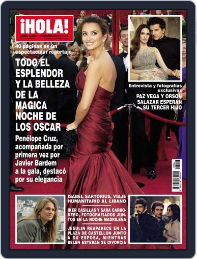 Hola (Digital) March 10th, 2010 Issue Cover