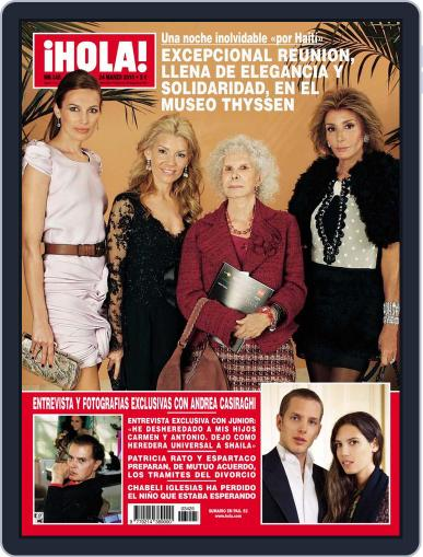 Hola March 17th, 2010 Digital Back Issue Cover