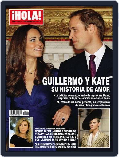 Hola (Digital) November 24th, 2010 Issue Cover