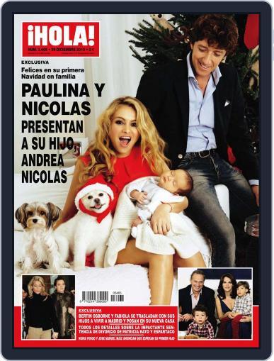 Hola December 22nd, 2010 Digital Back Issue Cover