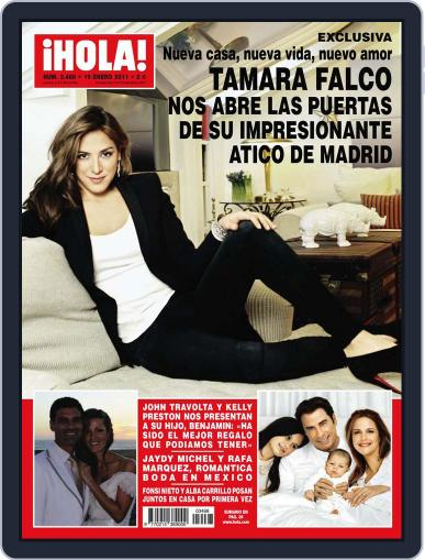 Hola January 12th, 2011 Digital Back Issue Cover