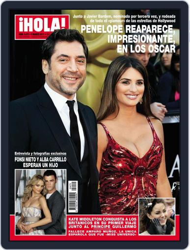 Hola (Digital) March 2nd, 2011 Issue Cover