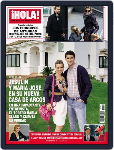 Hola March 23rd, 2011 Digital Back Issue Cover