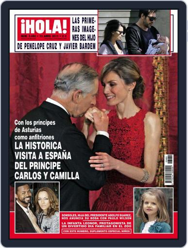 Hola April 6th, 2011 Digital Back Issue Cover