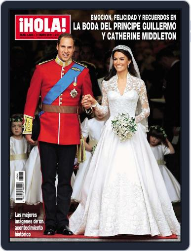 Hola (Digital) April 30th, 2011 Issue Cover