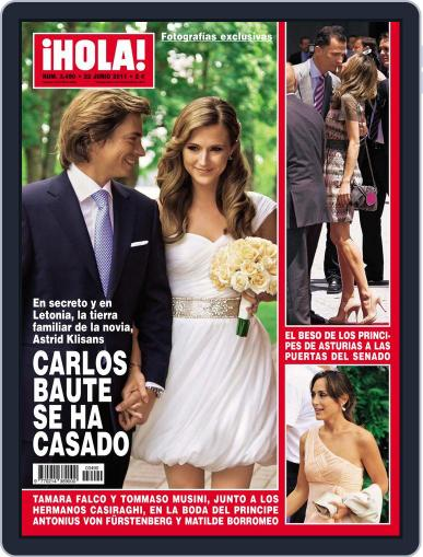 Hola June 15th, 2011 Digital Back Issue Cover