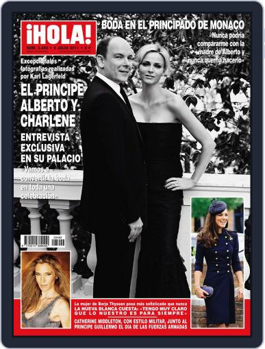 Hola June 29th, 2011 Digital Back Issue Cover