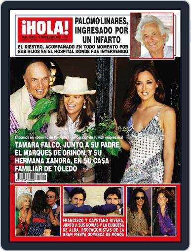 Hola (Digital) September 7th, 2011 Issue Cover